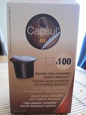 Paquet de 100 capsul-ins